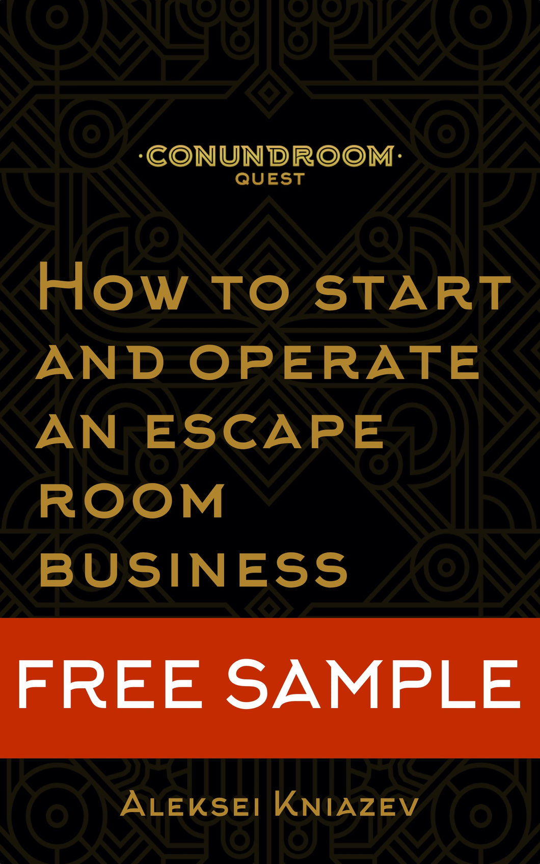 eBook Free Sample: How to open an escape room business?