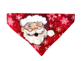 Like Owner, Like Dog! Ho,Ho! Santa Bandana & Facemask (Red)