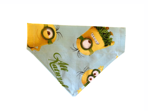 Hawaiian Minions, All Natural! Collar Insert Bandana