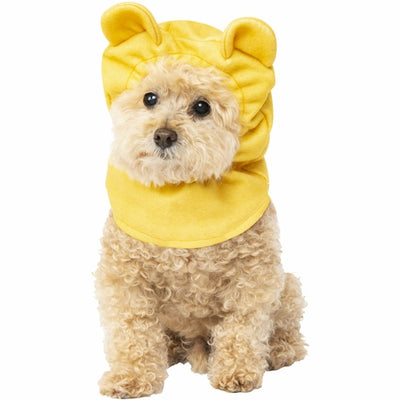 Pooh Bear Dog Headpiece Costume