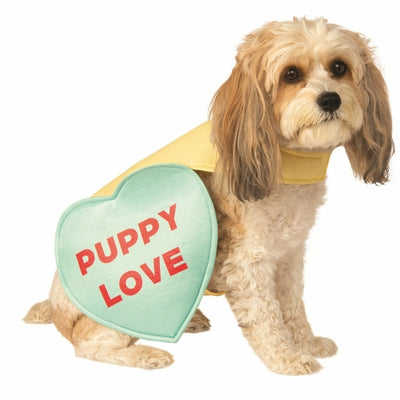 Valentine Candy Heart Pet Costume