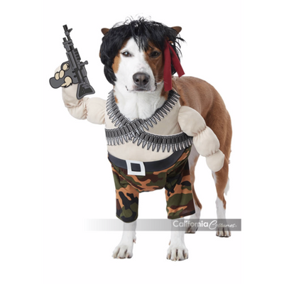 Action Hero Dog Costume