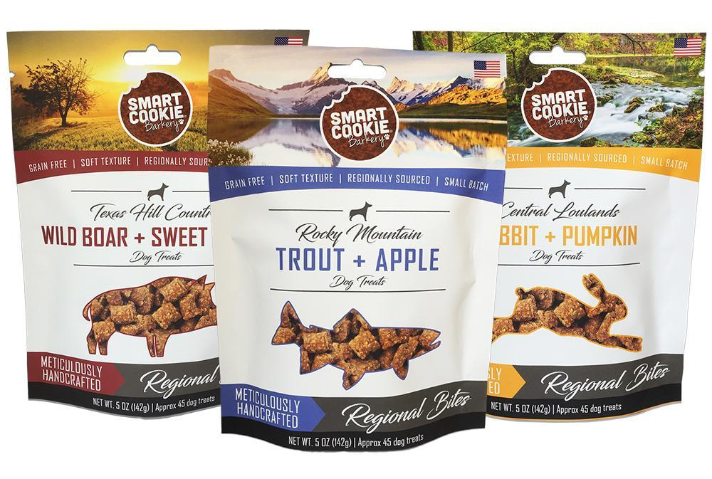 Regional Bites Dog Treat Sampler