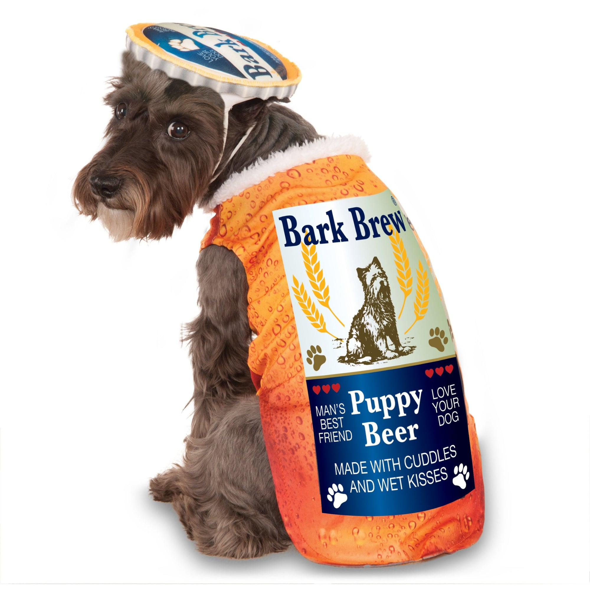 Bark Brew Beer Bottle Pet Costume