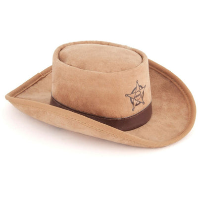 Sheriff Hat Dog Toy