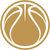 ImaginaryInk basketball logo in gold