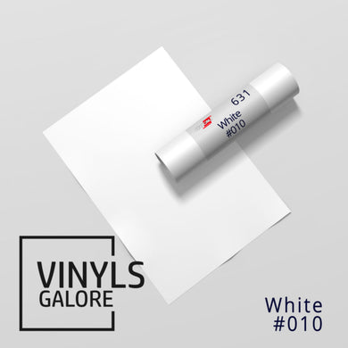 #010 - White - Oracal 631 - VinylsGalore