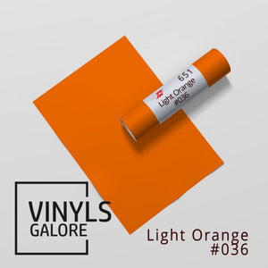 #036 - Light Orange - Oracal 651 - VinylsGalore