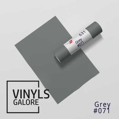 #071 - Grey - Oracal 631 - VinylsGalore