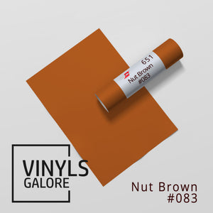 #083 - Nut Brown - Oracal 651 - VinylsGalore