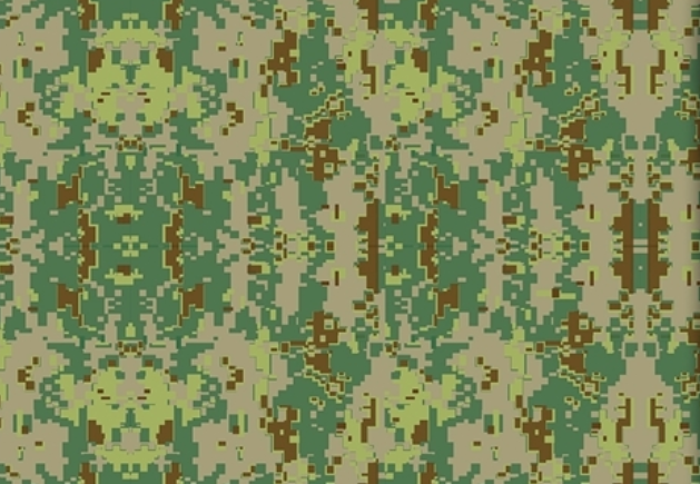 Pattern HTV - Military Camo - CLEARANCE