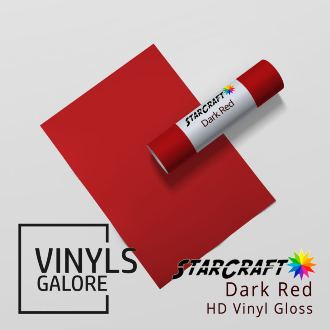 StarCraft HD Glossy | Dark Red
