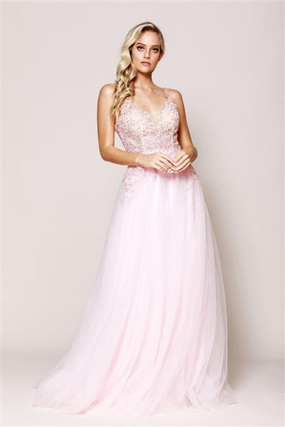 La Maison Prom & Evening Amelia Couture - BZ010 |Prom Dress| Evening Dresses| Ottawa, ON  14 / Blush Amelia Couture - BZ010