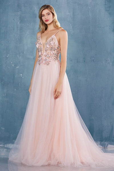 La Maison Prom & Evening Andrea Leo - A0721| La Maison Prom |Prom Dress| Evening Dresses| Ottawa, ON  14 / Blush Andrea Leo - A0721
