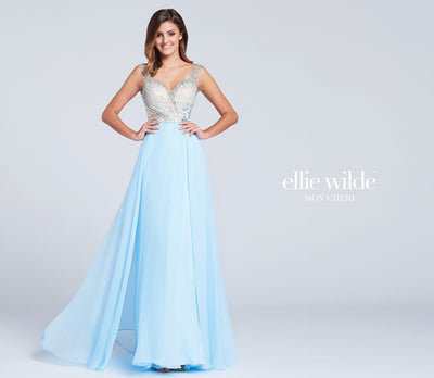 La Maison Prom & Evening Prom 8 / Light Blue Ellie Wilde - EW117015
