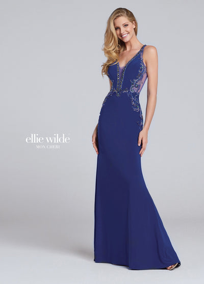 La Maison Prom & Evening Prom 14 / Blue Ellie Wilde - EW117136