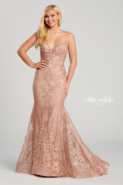 La Maison Prom & Evening Prom 12 / Rose Gold Ellie Wilde - EW120028