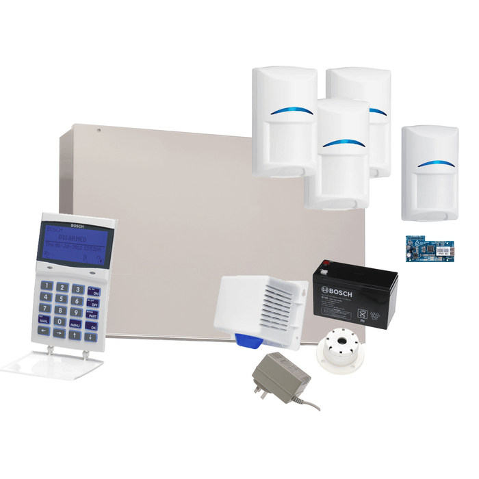 Bosch 6000 Alarm Kit 4 detectors IP Module Buy Online Rock Security