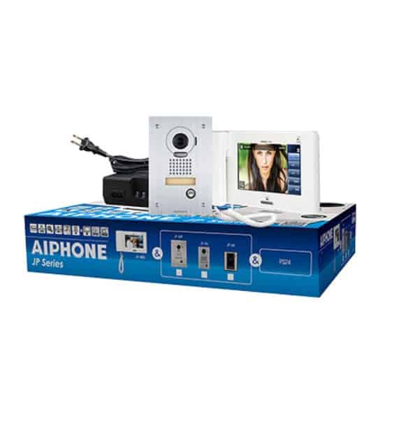 "Aiphone JP Series 7"" Touch Screen 4 x 8 Video Intercom Kit - AI-JPS-4AEDV"