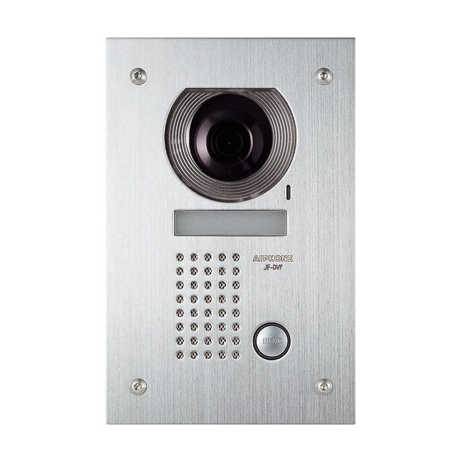 Aiphone JF Series Colour Video Door Station,  Stainless Steel, Flush Mount