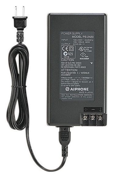 Aiphone PS 24V DC Power Supply, 2A