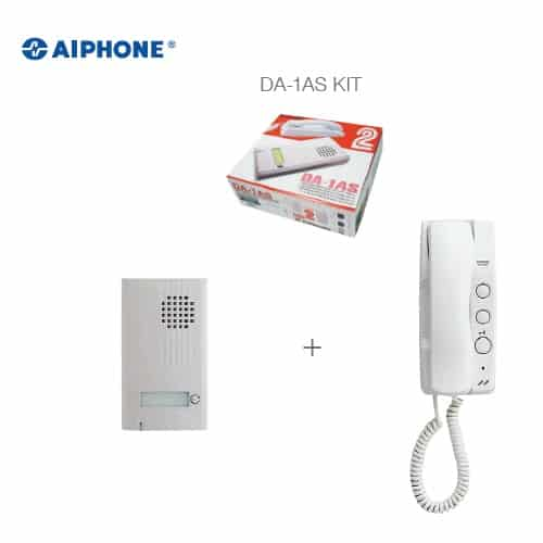 Aiphone 2-Wire 1 Call <br> Door Phone Kit -