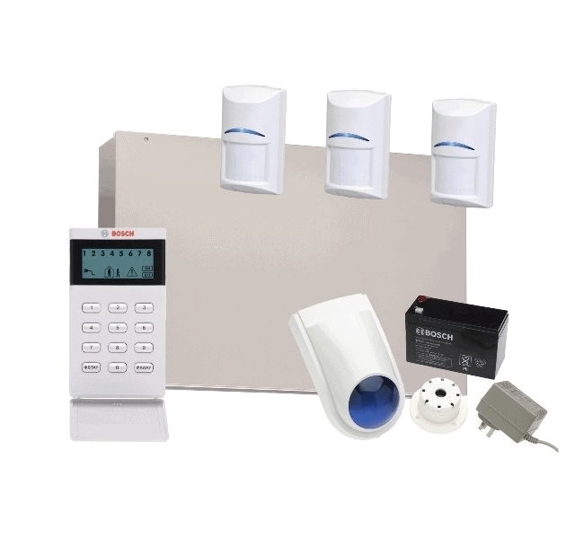Bosch Solution 3000, Keypad with 3 X Blue Line G2 Detectors with accessory kit