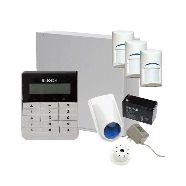 Bosch Solution 3000, Text/Alpha Numeric Keypad with 3 X Blue Line G2 Detectors