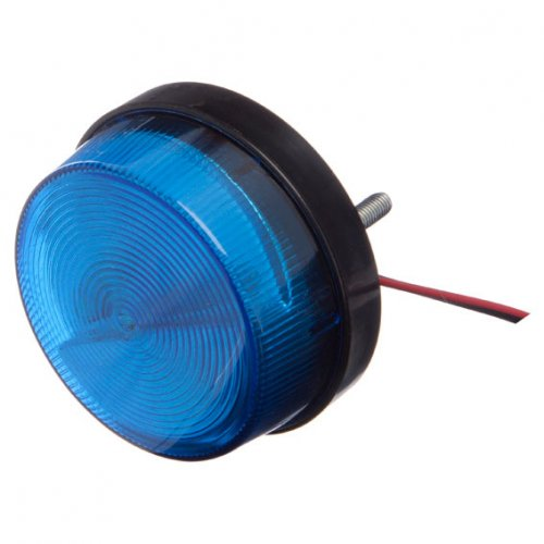 Blue strobe, 12V DC, LED version, water proof