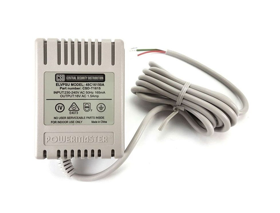 16V AC 1500mA ASH 3 CON Stripped / Tinned wire PSU (48C)