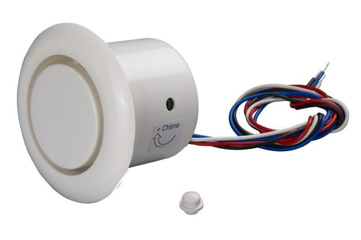 Flush mount combo piezo/chime