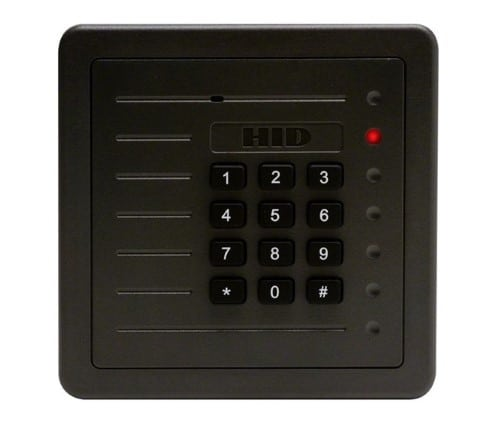 ProxPro 125 kHz Wall Switch Proximity Reader with Keypad  (Wiegand Output)