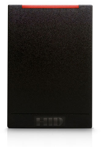 multiCLASS SE RP40 Wall Switch Reader, SIO& SEOS with Legacy, Standard Prox, Wiegand, Black