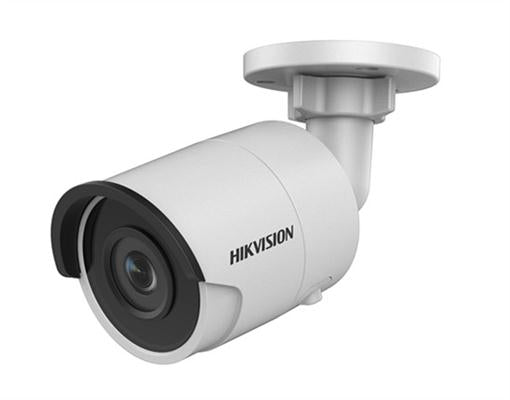 Hikvision 6MP Outdoor Mini Bullet Camera, H.265+, 30m IR, 120dB WDR, IP67, 2.8mm