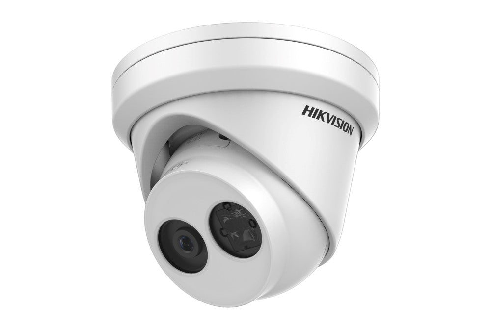 Hikvision 6MP Outdoor Turret Camera, H.265+, 30m IR, 120dB WDR, IP67, 4mm