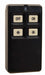 Inovonics 4 Button, Multi-Condition On/Off Pendant Transmitter, Black