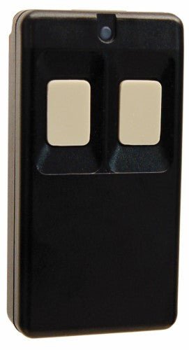 Inovonics Double Button, Belt Clip Pendant Transmitter, Black