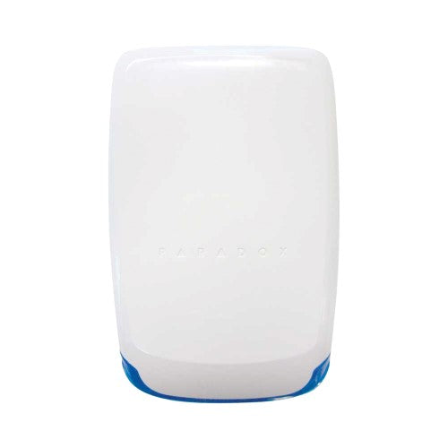 Paradox Wireless Outdoor Siren with Built-in Blue Strobe Light, 433MHz