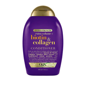 Ogx extra volume biotin and collagen conditioner