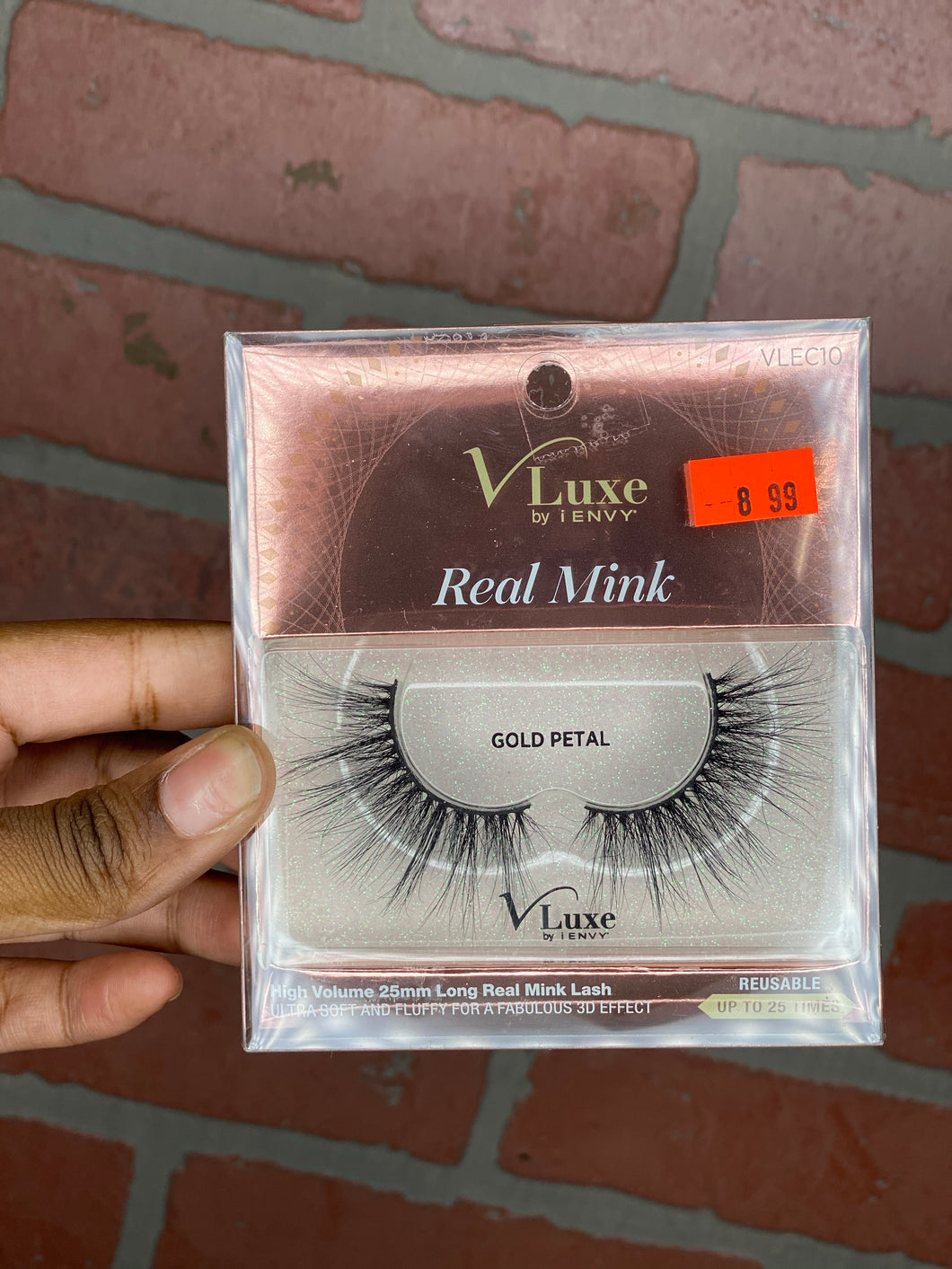 V luxe real mink lashes