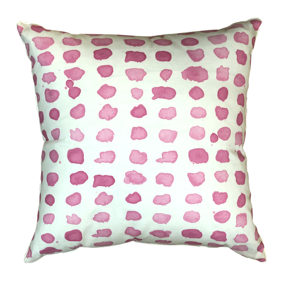 Amaryllis Guinea Spotted Pillow
