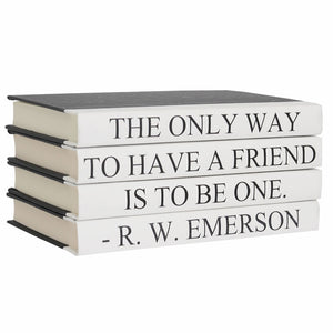 R.W. Emerson - Quote Book Set