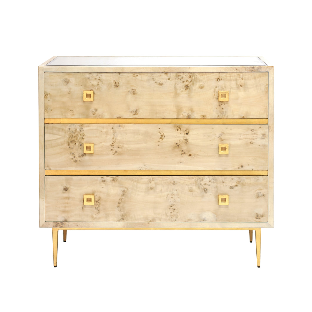Hudson 3-Drawer Chest