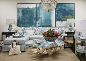 Juno Beach Sectional - Slipcovered