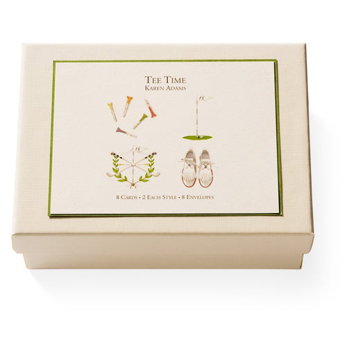 Tee Time Boxed Note Cards