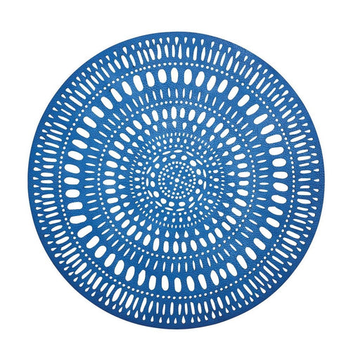 Fiesta Placemat in Blue and White-Set of 4