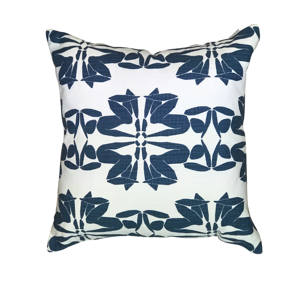 Jazz Cobalt Pillow