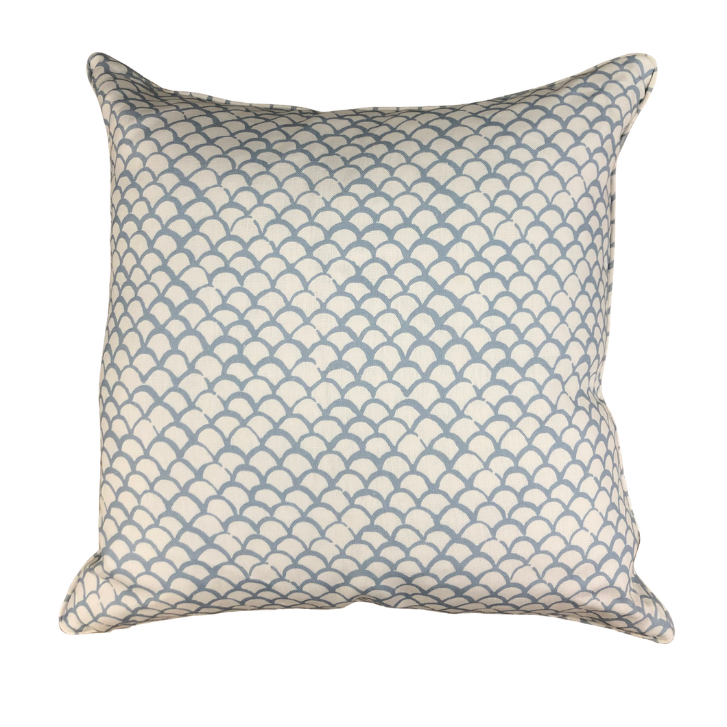 French Blue Skipjack Pillow