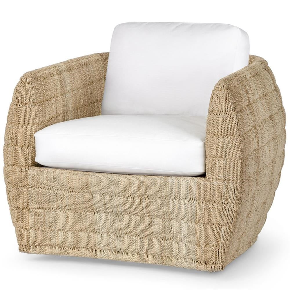 Palecek Ventura Swivel Lounge Chair