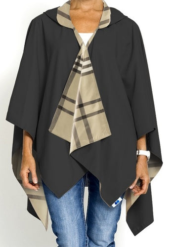 Rainrap Rain Poncho (Plaid)